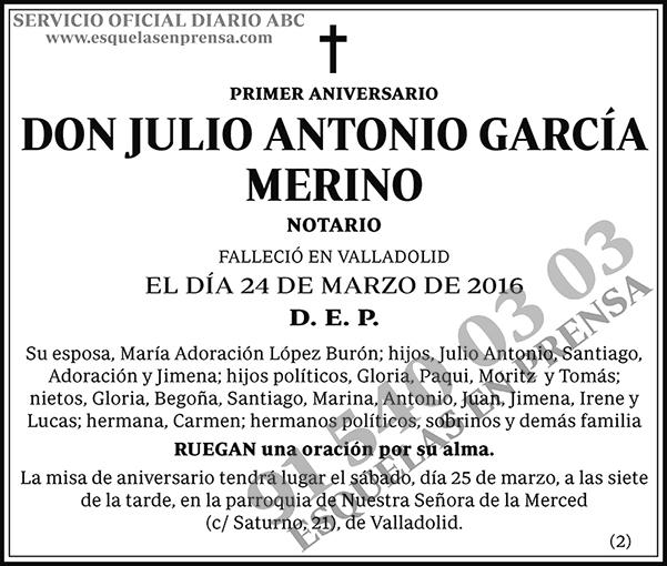 Julio Antonio García